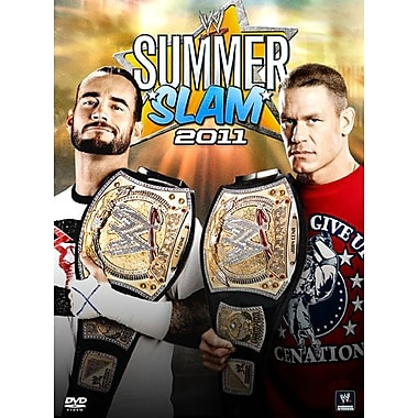 WWE 2011: Summerslam 2011: Los Angeles, Ca: August 14, 2011 (DVD)