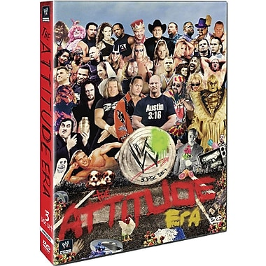 WWE 2012 - The Attitude Era (DVD)