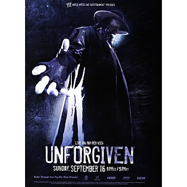 WWE: Unforgiven 2007: Memphis, Tn: September 16, 2007 Ppv (DVD)