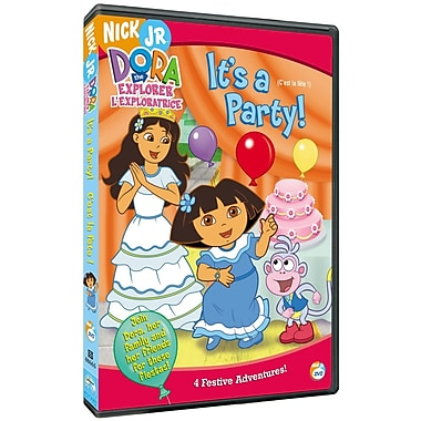 Dora The Explorer: It'S A Party! (DVD)