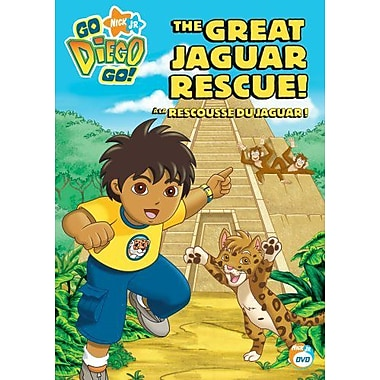 Go Diego Go!: The Great Jaguar Rescue (DVD)