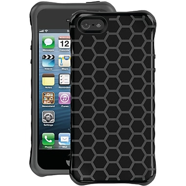 Ballistic® Aspira Series Honeycomb Case For iPhone 5, Black/Gray
