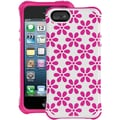 Ballistic® Aspira Series Honeycomb Case For iPhone 5, White/Pink