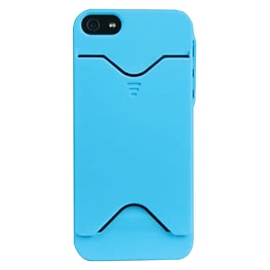 iessentials Wallet Case For iPhone 5, Blue