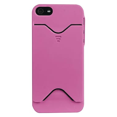 iessentials Wallet Case For iPhone 5, Pink