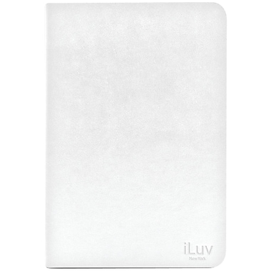 iLuv® Pocket View Folio Jacket For iPad Mini,White