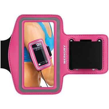 Merkury Active Neoprene Armband For iPhone 5/iPhone 4/4S/iPod Touch 5G Motion, Pink