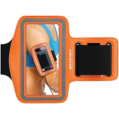 Merkury Active Neoprene Armband For iPhone 5/iPhone 4/4S/iPod Touch 5G Motion, Orange