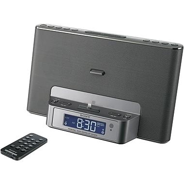 Sony® ICF-CS15IP Speaker Dock For iPod/iPhone, Silver