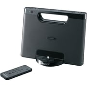 Sony® RDP-M7IPBLK Portable Speaker Dock With Lightning Connector For iPhone/iPod, Black