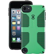 Speck® CandyShell Grip Case For iPod Touch 5G, Sour Apple Green/Black