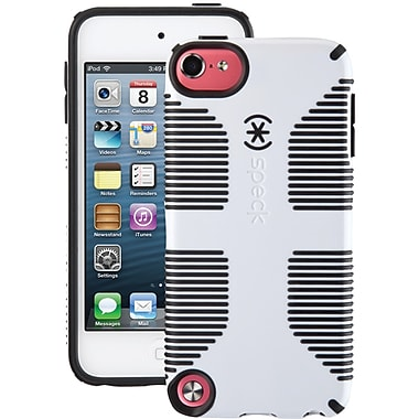 Speck Candy Shell SKKA1626 Grip Case for Apple iPod 5th Gen, White/Black