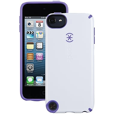 Speck® CandyShell Case For iPod Touch 5G, White/Grape Purple
