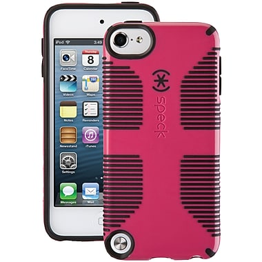 Speck® CandyShell Grip Case For iPod Touch 5G, Raspberry Pink/Black