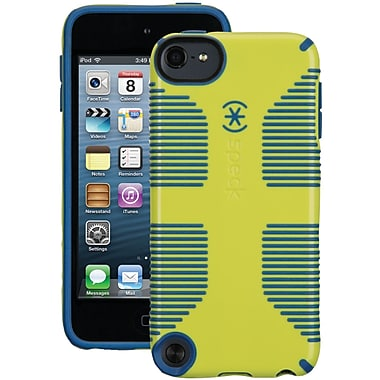Speck® CandyShell Grip Case For iPod Touch 5G, Lemongrass Yellow/Harbor Blue