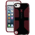Speck® CandyShell Grip Case For iPod Touch 5G, Black/Pomodoro Red