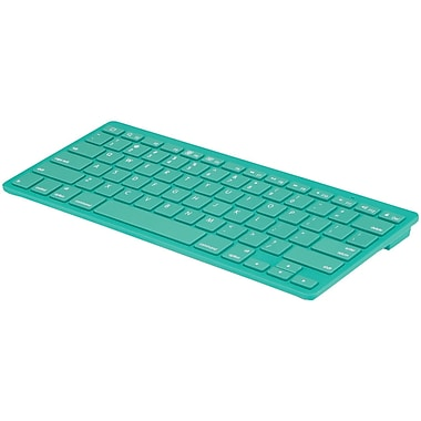 Merkury Wireless Bluetooth® Keyboard, Green