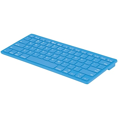 Merkury Wireless Bluetooth® Keyboard, Blue