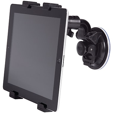 Merkury Universal Window Mount For Tablet, Black