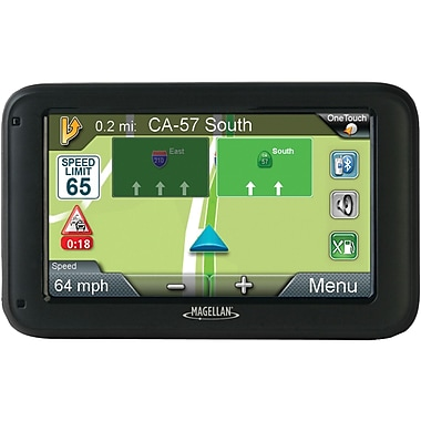 Magellan RoadMate® 2255T-LMB 4.3in. GPS Device With Free Lifetime Map and Traffic Updates