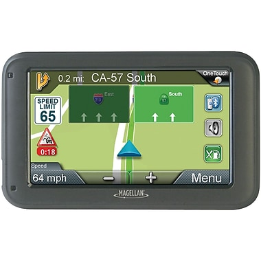 Magellan RoadMate® 5265T-LMB 5in. GPS Device With Free Lifetime Map and Traffic Alert Updates