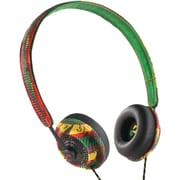 Marley™ Harambe™ On-Ear Headphones With Remote & Microphone, Rasta