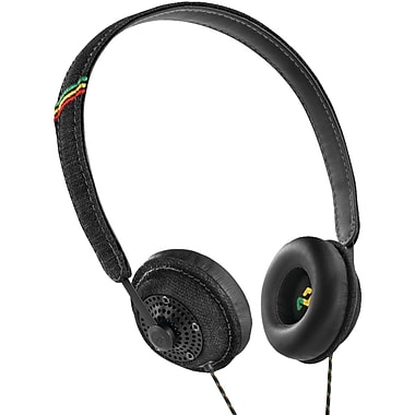 Marley™ Harambe™ On-Ear Headphones With Remote & Microphone, Midnight