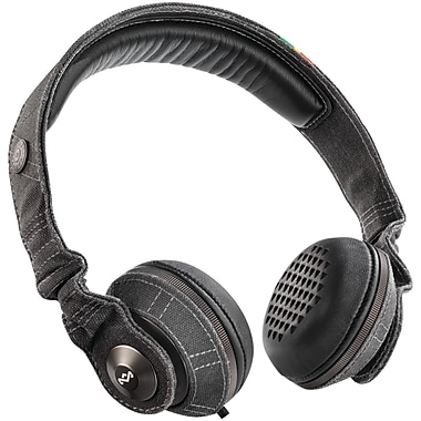 Marley™ Riddim™ On-Ear Headphones With Remote & Microphone, Midnight