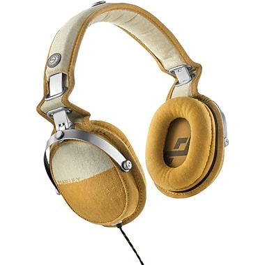 Marley™ Rise Up™ Over-Ear Headphones with 3-Button Microphone, Carmel