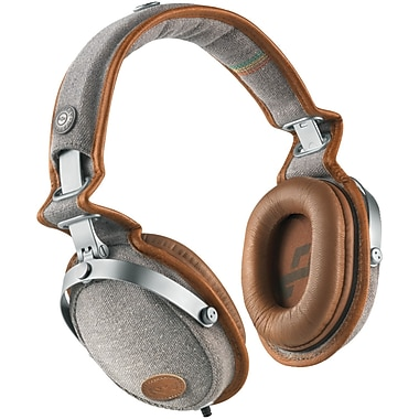 Marley™ Rise Up™ Over-Ear Headphones with 3-Button Microphone, Saddle