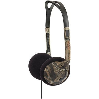 Koss® Over-The-Head On-Ear Mossy Oak Headphones, Green