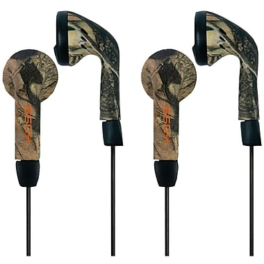 Koss® Traditional Mossy Oak Stereophone Earbuds, Pink