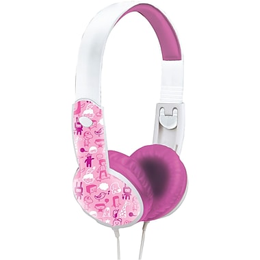 Maxell Safe Soundz™ Headphones For Kids, Pink