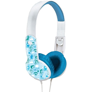 Maxell Safe Soundz MXL190295 Headphone for Kids, Blue