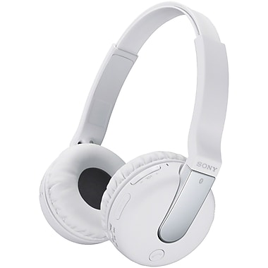 Sony® Bluetooth NFC Headphones, White