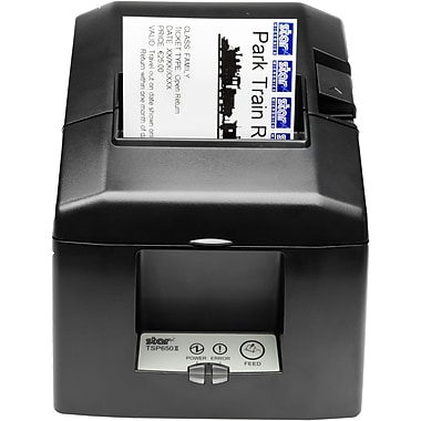 Star Micronics® TSP650 Series 203 dpi 11.81 inch/sec Direct Thermal Printer, Putty