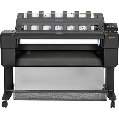 HP® Designjet T920 36in. ePrinter Inkjet Large Format Printer, Cyan