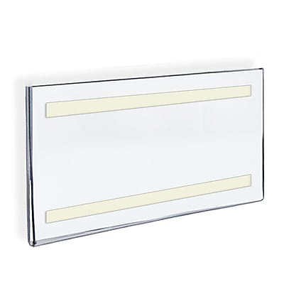11 x 17 Acrylic Horizontal Wall Mount Acrylic Sign Holder