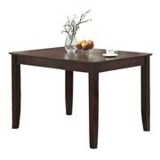 Walker Edison 32 x 48 x 36 Wood Dining Table, Espresso
