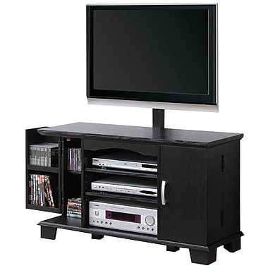 Walker Edison 42in. Wood TV Console With Mount, Black