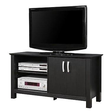 Walker Edison Castillo 44in. Wood TV Console, Black