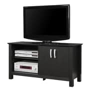 Walker Edison Castillo 44 Wood TV Console, Black