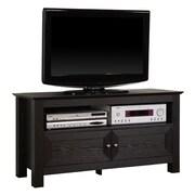 """Walker Edison Cortez 44"""" Wood TV Console, Black"""