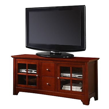 Walker Edison 52in. Wood TV Consoles With Drawers