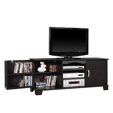 Walker Edison Jamestown 60in. Wood TV Stand, Black