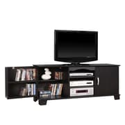 Walker Edison Jamestown 60 Wood TV Stand, Black