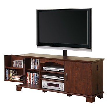 Walker Edison 60in. Wood TV Console With Mount, Traditional Brown