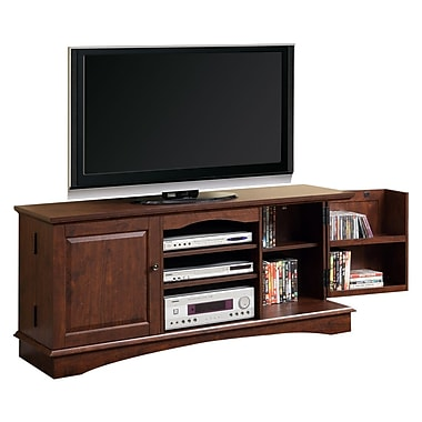 Walker Edison 60in. Wood Storage TV Console, Traditional Brown