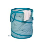 Honey Can Do® Breathable Large Mesh Popup Hamper, Ocean Blue