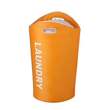 Honey Can Do® Foam Laundry Tote, Orange